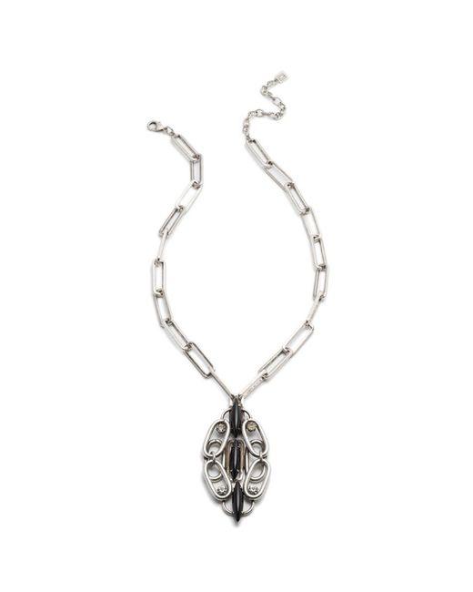 DANNIJO - Metallic Maeve Necklace - Lyst