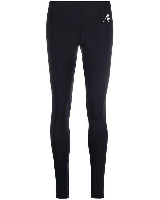 The Attico Black Lycra leggings