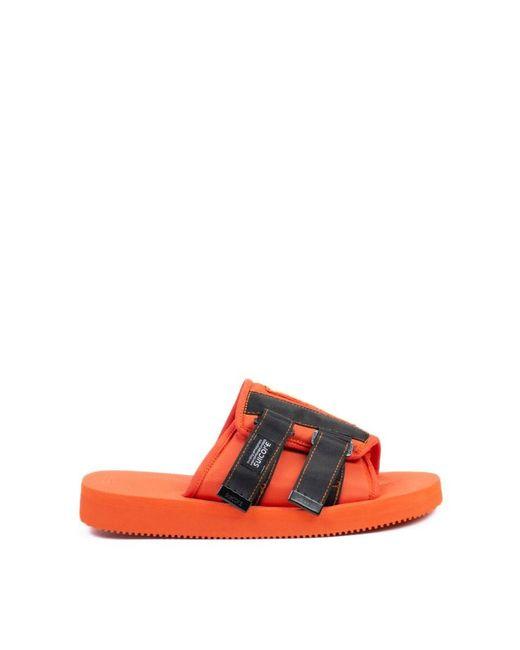 cce2d5cb31fc Palm Angels - Red  suicoke  Sandals for Men - Lyst ...