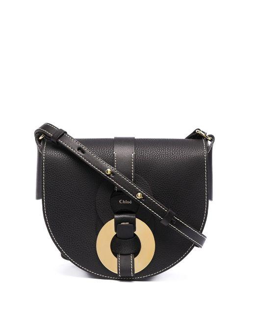 Chloé Black Darryl Small Saddle Bag