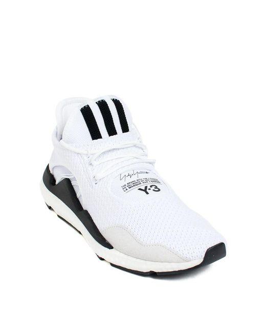 15473d1ed ... Lyst Y-3 - White Saikou  Sneakers ...