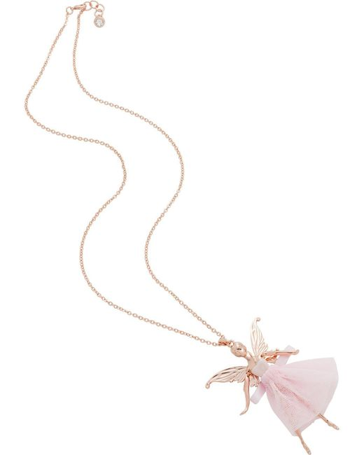 Ted Baker | Pink Titania: Fairy Ballerina Pendant | Lyst