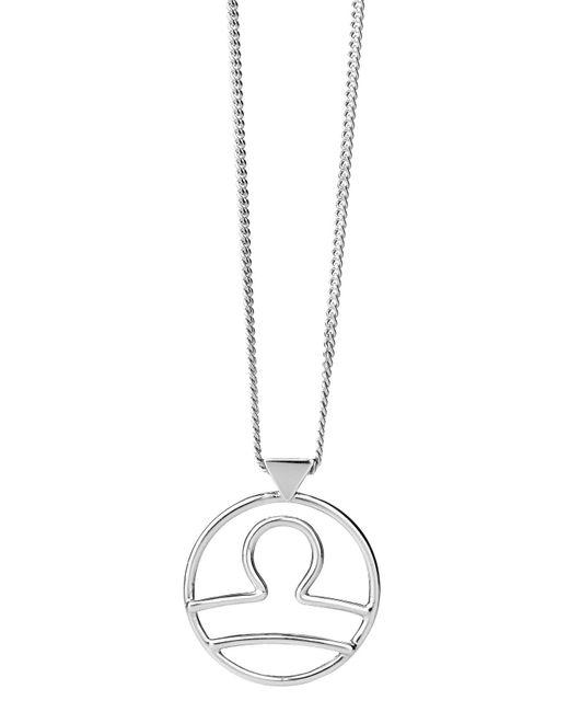 Karen Walker | Metallic Libra Necklace | Lyst