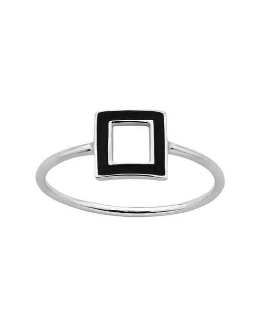 Karen Walker | Metallic Ignition Enamel Ring Med | Lyst