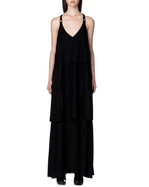 Strateas Carlucci | Black Harness Tier Dress | Lyst