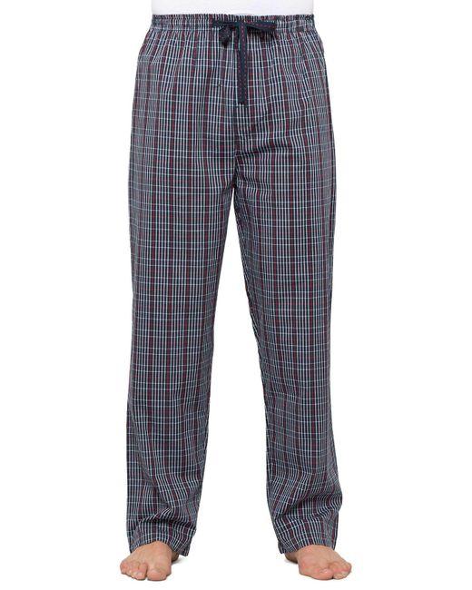 Duchamp - Blue Hampton Check Pant for Men - Lyst