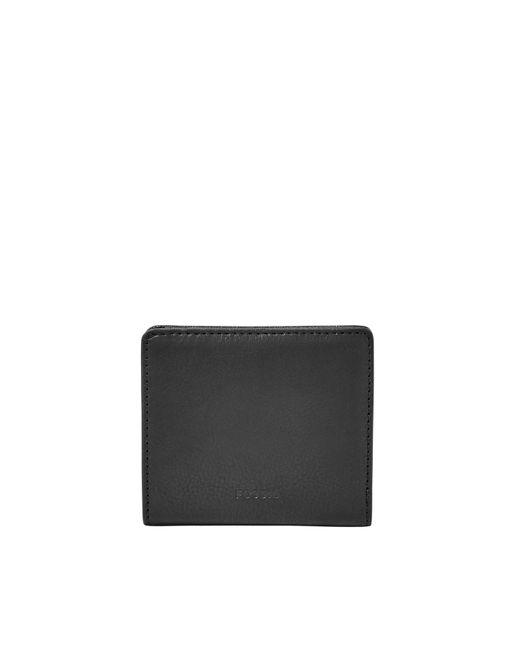 Fossil Black Emma Bifold Mini Wallet