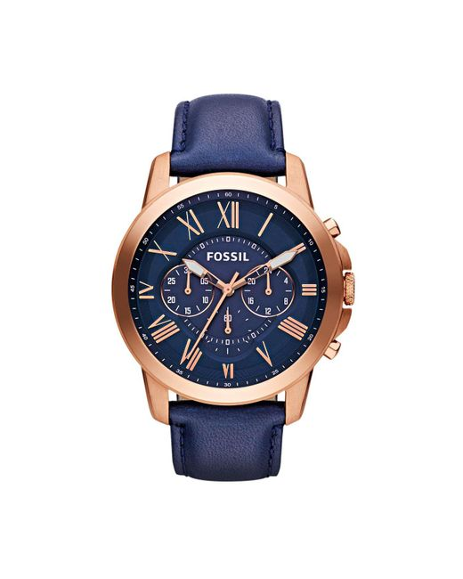 Fossil | Multicolor Grant Watch for Men | Lyst