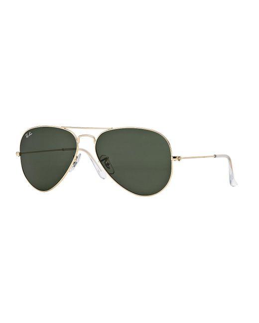 Ray-Ban Green Aviator Sunglasses for men