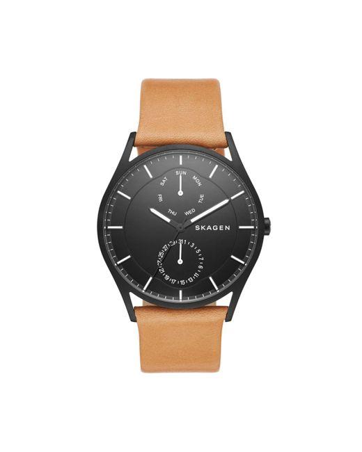 Skagen   Brown Watch Holst   Lyst