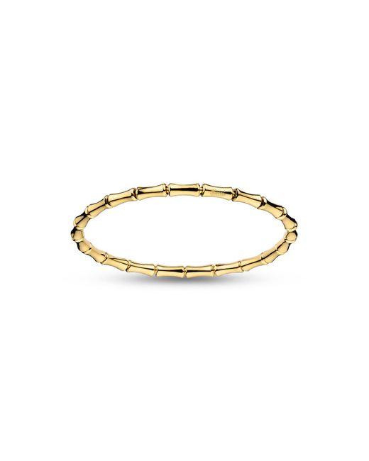 Gucci | Metallic Bamboo Thin Bracelet | Lyst