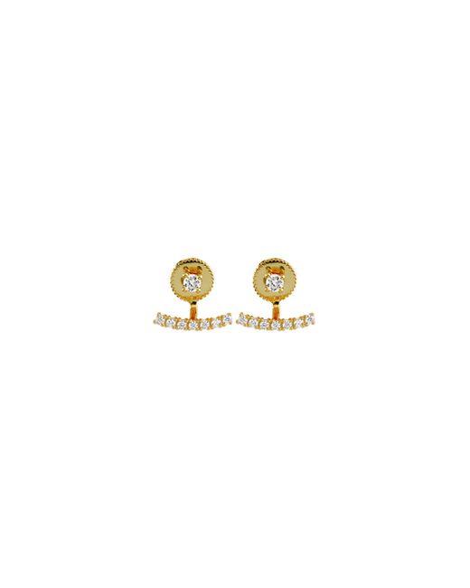 Samantha Wills | Metallic Azure Ear Jackets - Gold | Lyst