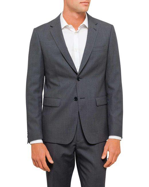 Geoffrey Beene | Gray Textured Plain Travel Jacket for Men | Lyst