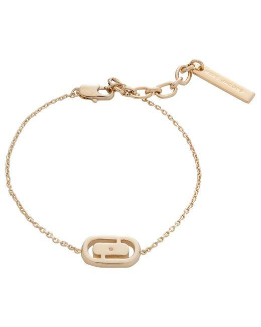 Marc By Marc Jacobs   Metallic Icon Cut Out Bracelet   Lyst