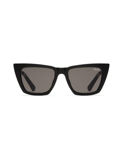 Quay - Black Don't @ Me Sunglasses - Lyst