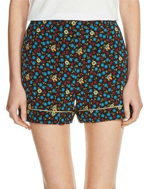 Maje | Blue Ivani Shorts | Lyst