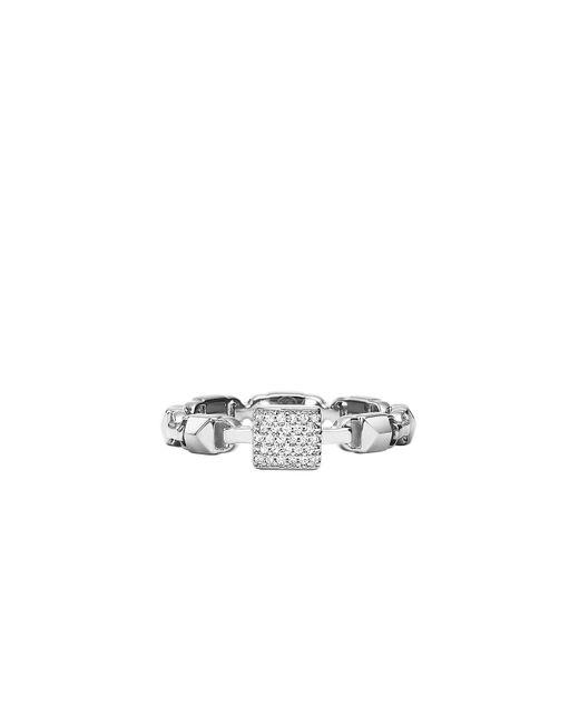 Michael Kors - Metallic Premium Silver Ring - Lyst