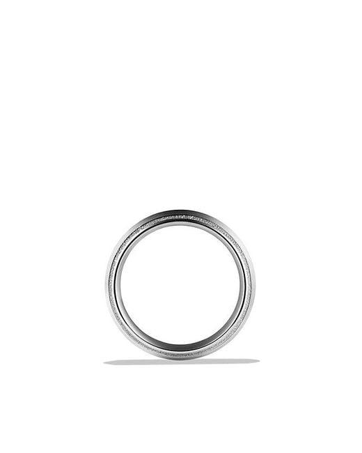 David Yurman - Metallic Knife Edge Band Ring In Platinum, 8mm for Men - Lyst
