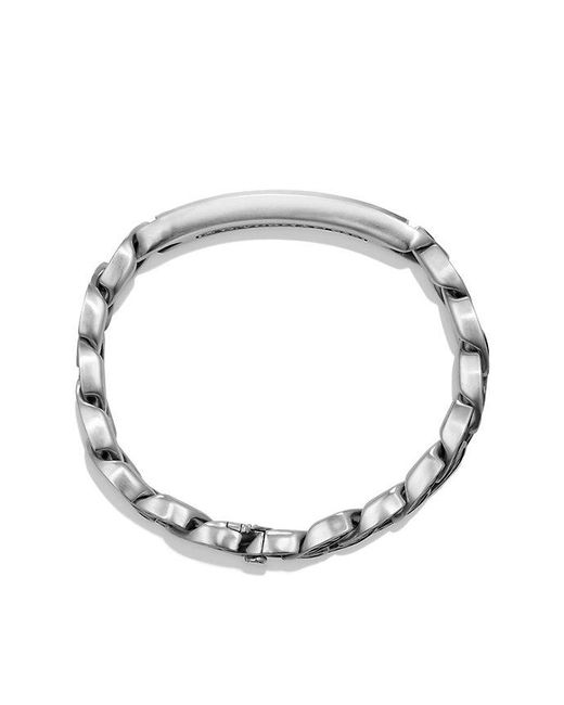 David Yurman | Metallic Maritime Curb Link Id Bracelet With Lapis Lazuli for Men | Lyst