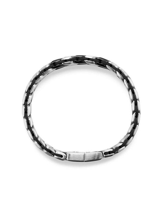 David Yurman - Metallic Chevron Woven Bracelet, 12mm for Men - Lyst