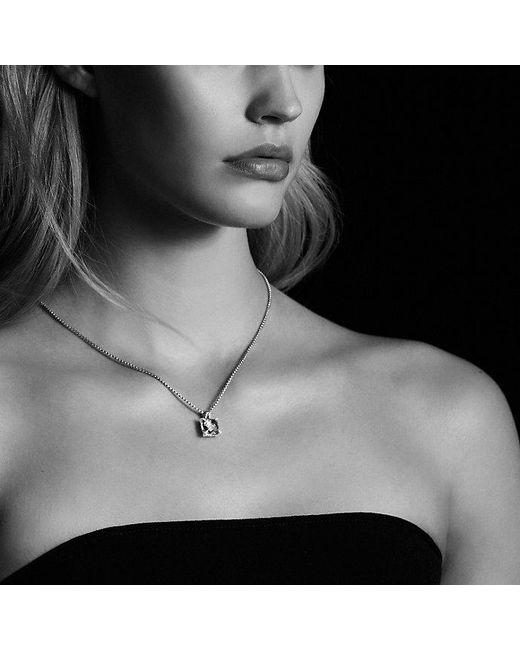 David Yurman | Multicolor Châtelaine Pendant Necklace With Hampton Blue Topaz And Diamonds In 18k Gold, 11mm | Lyst