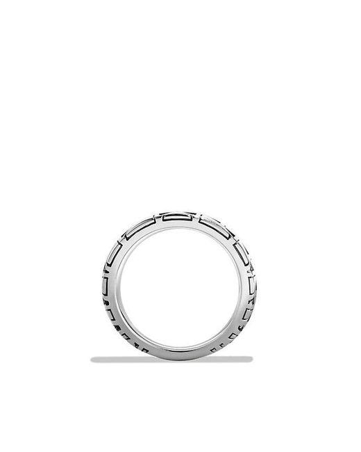 David Yurman   Metallic Frontier Ring With 18k Gold for Men   Lyst