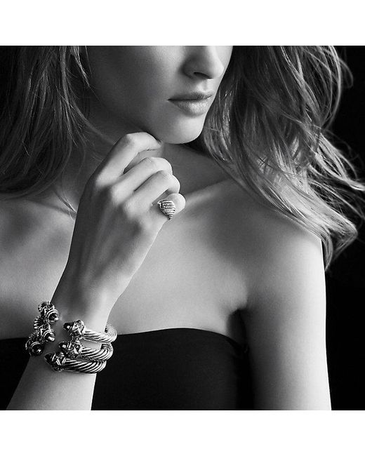 David Yurman | Black Renaissance Bracelet, 10mm | Lyst