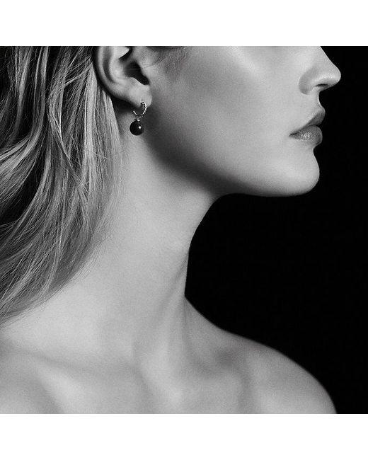 David Yurman | Metallic Solari Hoop Earrings In 18k Gold | Lyst