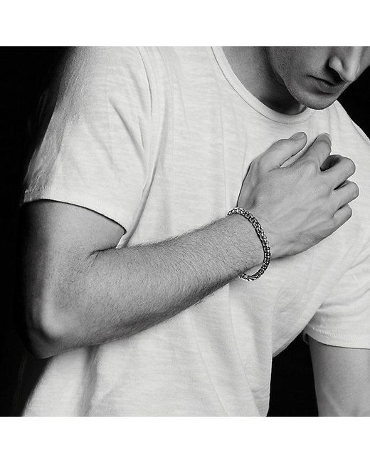 David Yurman - Metallic Extra-large Box Chain Bracelet, 7mm for Men - Lyst