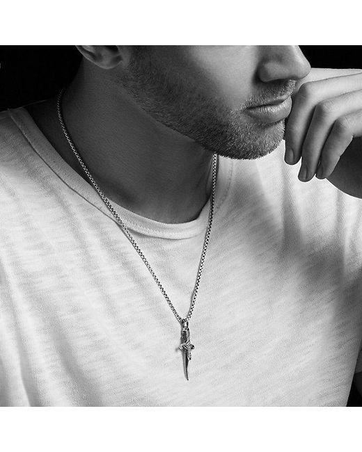 David Yurman   Metallic Waves Dagger Amulet for Men   Lyst
