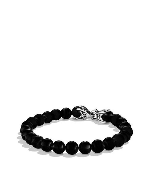David Yurman | Spiritual Beads Bracelet With Black Onyx for Men | Lyst
