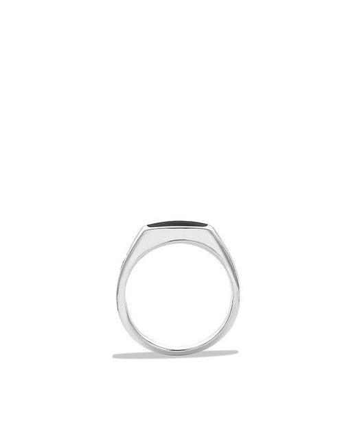 David Yurman | Exotic Stone Signet Ring With Black Onyx for Men | Lyst