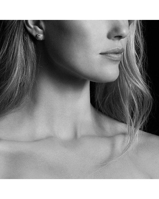 David Yurman   Petite Albion® Earrings With Black Diamonds   Lyst