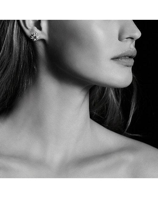 David Yurman | Starburst Earrings With Hampton Blue Topaz And Diamonds, 12mm | Lyst