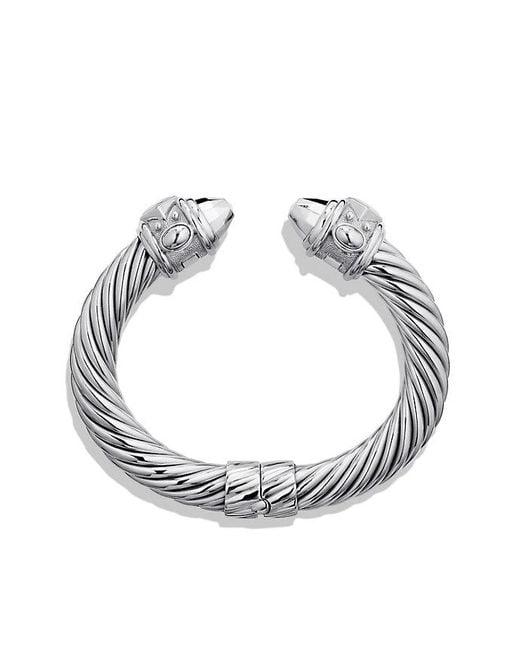 David Yurman | Metallic Renaissance Bracelet, 10mm | Lyst