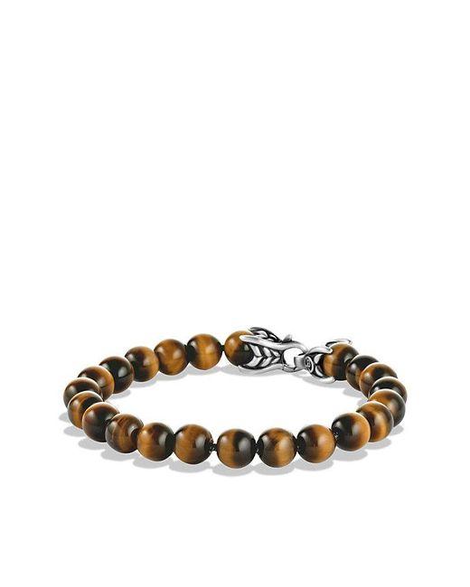 David Yurman | Metallic Spiritual Beads Bracelet With Tiger's Eye, 8mm for Men | Lyst