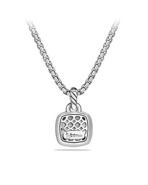 David Yurman - Purple Albion® Pendant With Amethyst And Diamonds, 11mm - Lyst