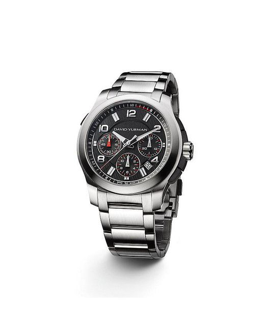 David Yurman - Metallic Revolution 43.5mm Chronograph Watch for Men - Lyst