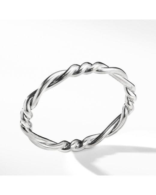David Yurman - Metallic Continuance Center Twist Bracelet - Lyst