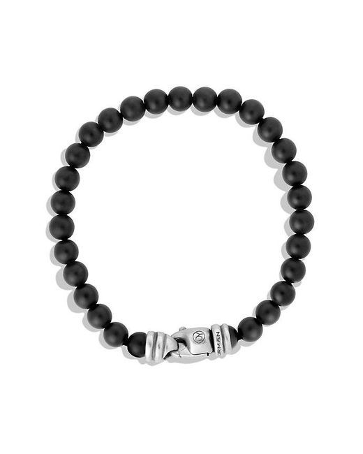 David Yurman - Spiritual Beads Bracelet With Black Onyx, 6mm for Men - Lyst