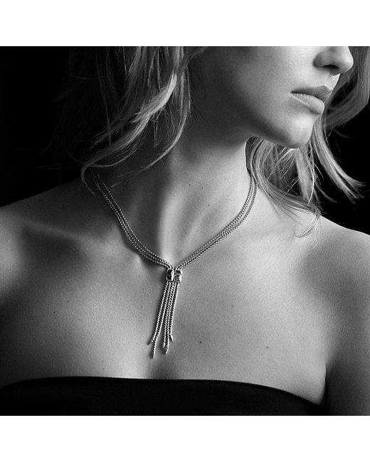 David Yurman | Metallic Confetti Drop Necklace With Diamonds In 18k Gold | Lyst