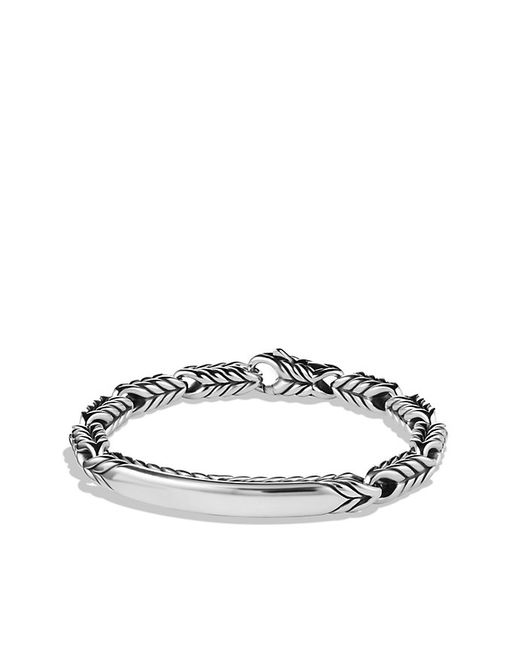 David Yurman | Metallic Chevron Id Bracelet for Men | Lyst