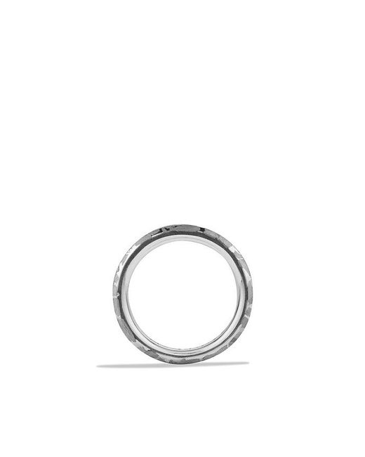 David Yurman | Metallic Fused Meteorite Ring for Men | Lyst
