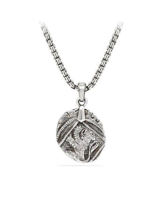 David Yurman | Metallic Shipwreck Coin Amulet, 23mm | Lyst