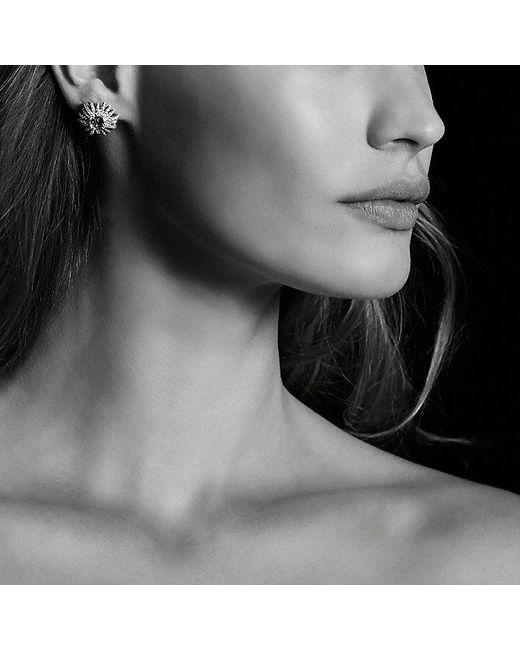 David Yurman | Pink Starburst Earrings With Morganite And Diamonds In 18k Rose Gold, 19mm | Lyst