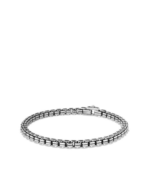 David Yurman - Metallic Double Box Chain Bracelet , 4mm for Men - Lyst