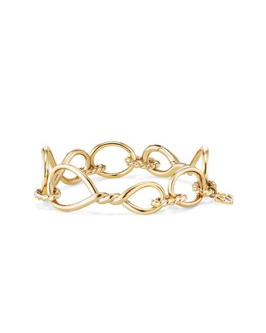 David Yurman - Metallic Continuance Chain Bracelet In 18k Gold - Lyst