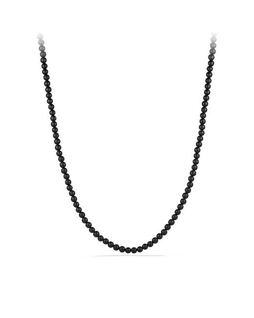 David Yurman | Spiritual Bead Necklace With Black Onyx for Men | Lyst
