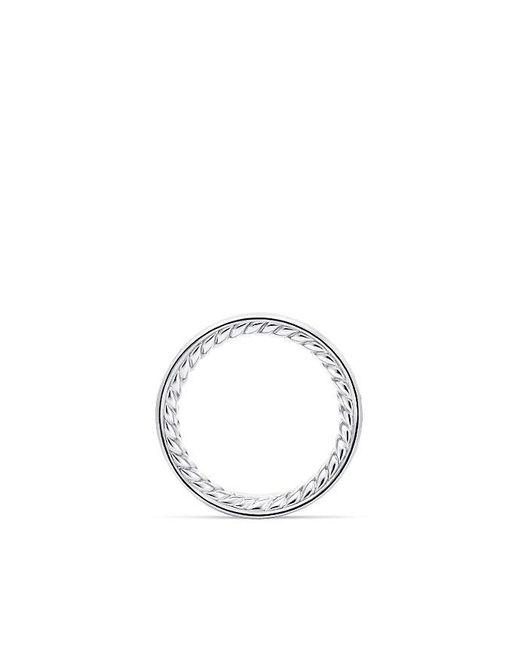 David Yurman | Metallic Dy Eden Eternity Wedding Band With Diamonds In Platinum, 3.3mm | Lyst