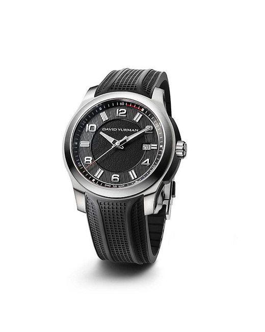 David Yurman | Black Revolution 43.5mm Stainless Steel Automatic Watch for Men | Lyst